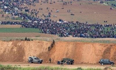 팔레스타인과 시리아를 공격한 이스라엘
