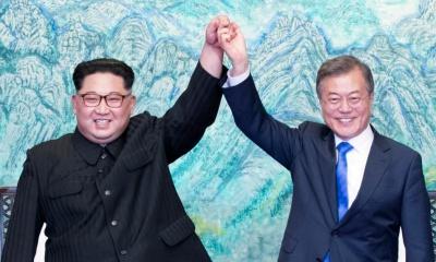 남북 정상회담에 주가가 하락한 미 군산복합체