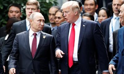 푸틴, '미국 내 세력들이 자신들의 이익을 위해 러시아와의 관계를 악화시키고 있다'