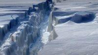 남극 빙하가 녹는 원인이 화산 활동이라는 연구가 발표되다