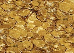 금 생산이 줄고 있다