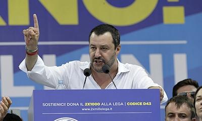 유럽의 반이민운동 연합 결성을 제안한 이탈리아 내무장관