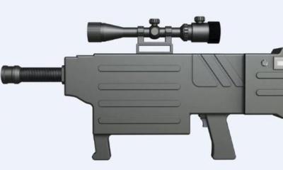 사정거리가 거의 1km에 달하는 레이저 소총을 개발한 중국