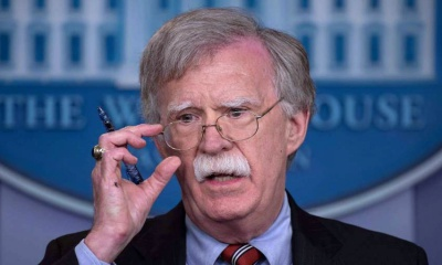 시리아 정부의 화학무기 사용을 사전 경고한 미 국가보좌관 존 볼턴
