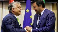 브뤼셀의 이민 정책에 반대하는 유럽연합 국가들의 연합을 주도하는 이탈리아와 헝가리