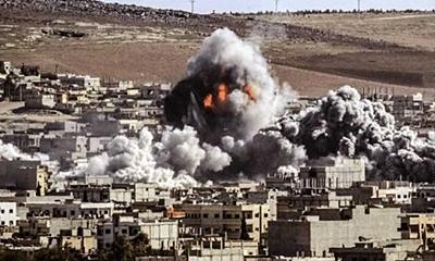 예멘의 민간인을 공습하고 있는 사우디 연합군