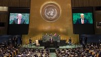 글로벌리스트를 비난한 2019년 트럼프 대통령의 유엔총회 연설