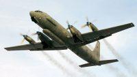 시리아에서 격추된 러시아 정찰기 IL-20