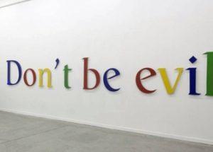 검열을 인정하는 내부 문건이 유출된 구글