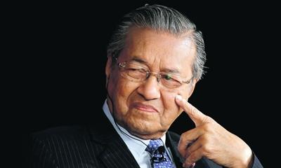 BBC와의 인터뷰에서 이스라엘을 비판한 말레이시아의 모하마드 총리