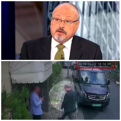 사우디에 의해 살해된 것으로 의심되는 워싱턴포스트 기자 자말 카쇼기