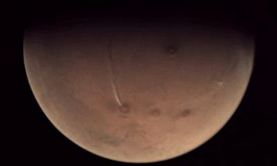 지난달 화성과 목성을 찍은 영상에서 목격된 미스터리 현상