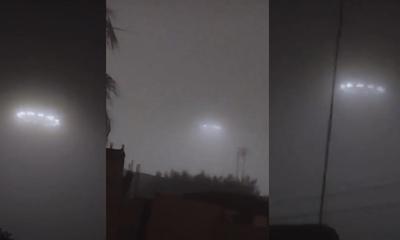 지난달 멕시코에서 촬영되어 소동이 벌어진 UFO 영상