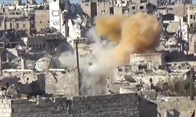 시리아에 다시 발생한 화학무기 공격