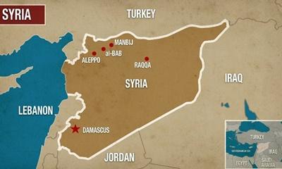 시리아 북부에서 유적 발굴 작업을 하고 있는 미국, 프랑스, 터키