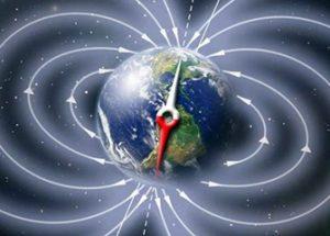 지구의 자기장이 빠르게 이동하고 있다