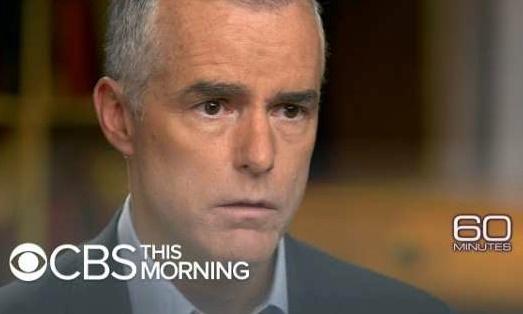 맥케이비 전 FBI 부국장, '대통령을 끌어내리기 위해 FBI와 법무부가 수차례 회의를 했습니다'