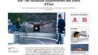 프랑스의 2018년 국제 분야 가짜 뉴스로 선정된 푸틴의 사자 사냥