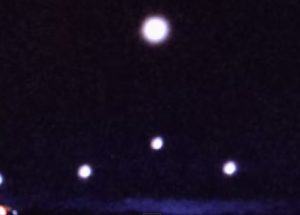 2015년 1월에 미국 메사추세츠에서 촬영된 UFO 현상
