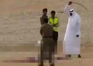 37명을 공개 참수한 사우디 아라비아
