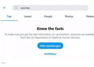 백신 비판 컨텐츠 검열에 나선 트위터, 페이스북, 아마존, 유튜브