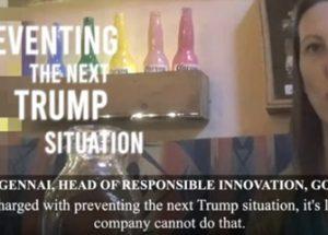 트럼프의 재선을 막기 위해 알고리즘을 훈련 중인 구글