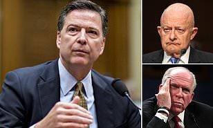 러시아 게이트를 촉발한 '트럼프 문건'에 대해 서로 책임을 떠넘기는 FBI와 CIA