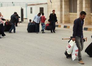 시리아 상황이 나아지면서 시리아에서 휴가를 보내는 난민들