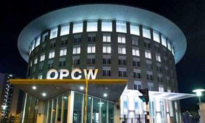 시리아의 화학무기 공격 결론에 반대되는 OPCW의 현장 조사 이메일이 유출되다