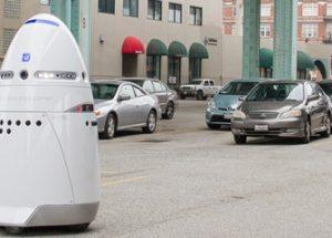 데이터 수집 용도로 사용되고 있는 경비 로봇