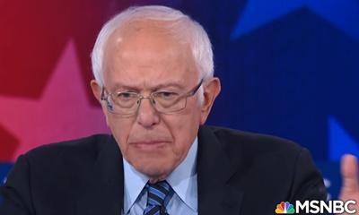 민주당 경선 TV 토론에서 공정성 보도 문제가 제기되고 있는 MSNBC