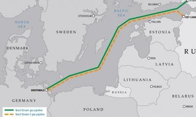 러시아 천연가스 파이프라인 '노드 스트림 2' 제재 법안의 미 상원 통과에 반발한 독일