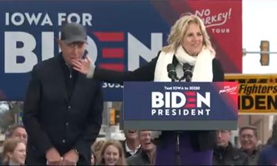 이상한 발언과 행동으로 구설수에 오르고 있는 조 바이든