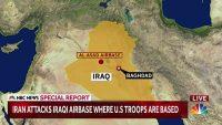 이란의 이라크 미군 기지 공격으로 미군 부상자가 발생했다
