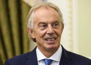 브렉시트를 저지하기 위해 만남을 가진 유럽연합과 블레어 전 영국 총리
