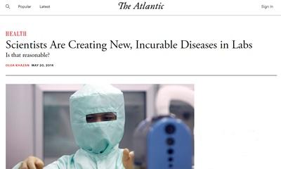 과학자들은 치료할 수 없는 질병을 실험실에서 만들고 있다. 그것이 합리적인가?