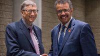 대규모 백신 접종을 요구하는 빌 게이츠와 그의 후원을 받는 WHO의 사무총장 아드하놈