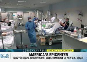 코로나 사태를 과장하고 있는 미국과 영국 정부, 그리고 발각된 CBS의 가짜뉴스