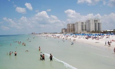 추가로 확인된 미 플로리다주 코로나 확진자 급등 오류