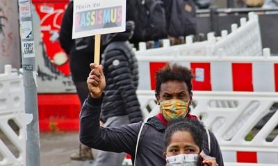 백인들만 적용되는 마스크 의무 착용 규정을 발표한 미국의 한 카운티