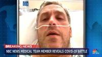 가짜 코로나 환자가 출연한 MSNBC