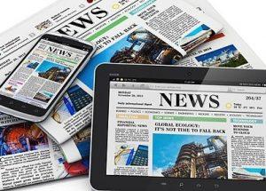 미국의 언론 신뢰도와 트럼프 대통령 코로나 확진 여론조사