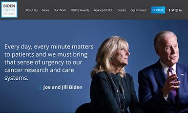 논란이 되고 있는 바이든 언론 수석과 암 재단