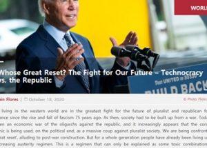 누구를 위한 리셋인가? 우리의 미래를 위한 싸움 – 테크노크라시 대 공화국