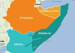 소말리아로부터 철수하는 미군과 이를 환영하는 소말릴란드