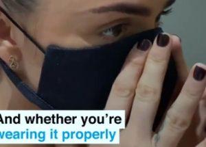 스마트 마스크 착용을 추천하는 세계경제포럼
