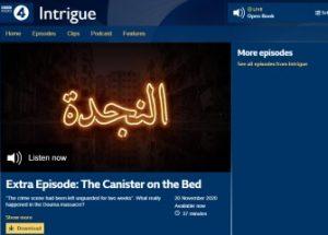 시리아 화학 무기 공격 보도의 거짓을 인정한 BBC